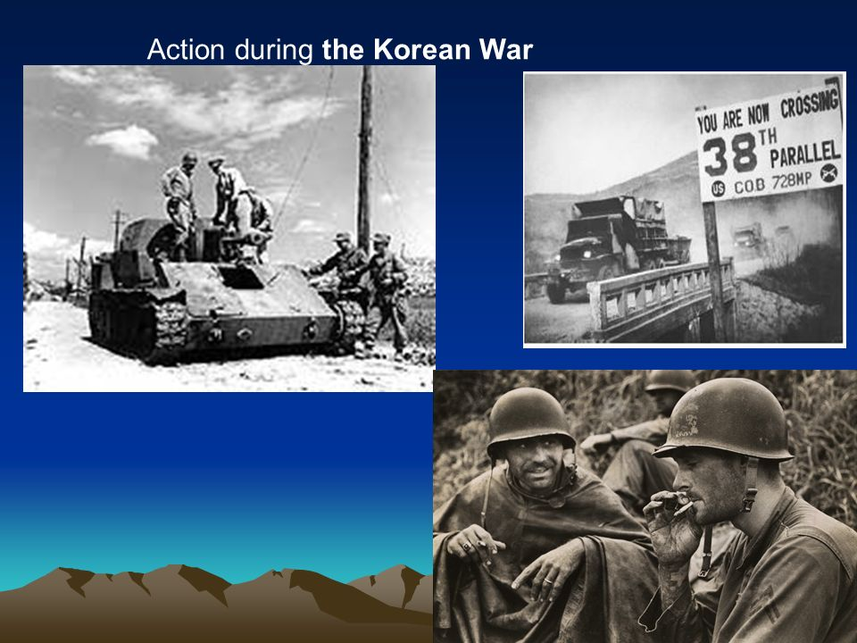 27 Action during the Korean War