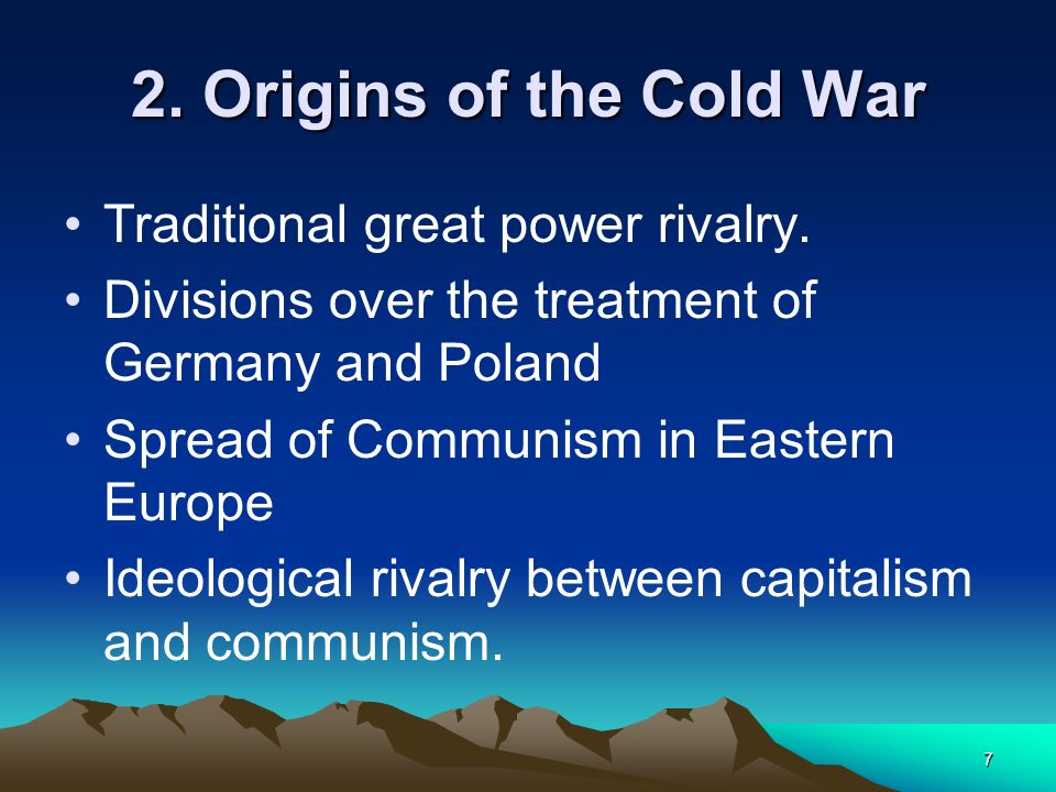 18 At the end of W.W.2 the Allied leaders met in Yalta and Potsdam and decided that.....