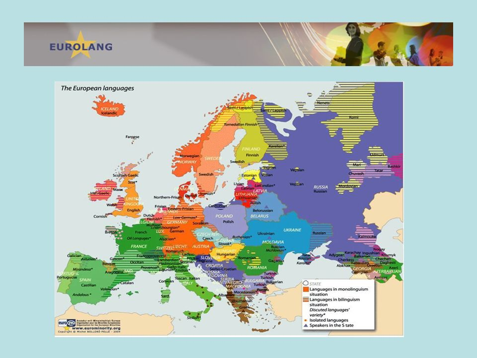 Using the definition of the ECRML there are approximately 60 minority languages in Europe.