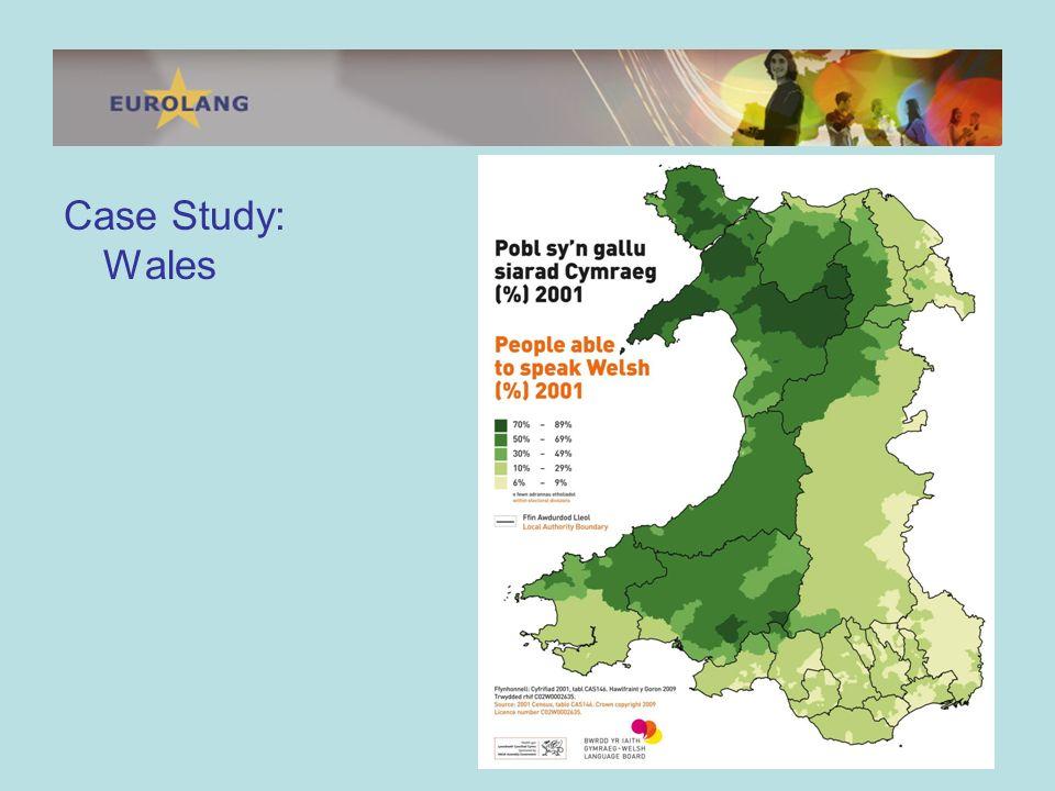 Welsh-medium schools are flourishing.