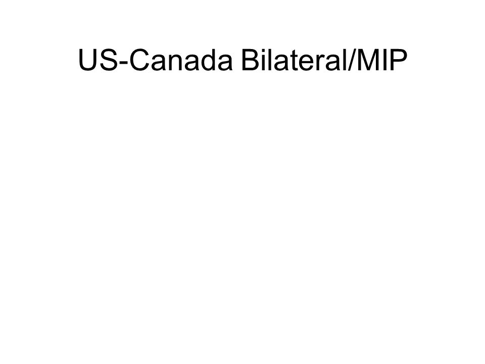 US-Canada Bilateral/MIP Special Conditions when working on Canadian Air Carriers: A supplement Describing the procedures OR Explain where in the RSM those procedures are located