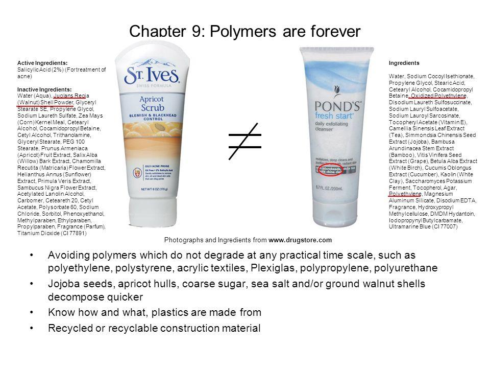 Active Ingredients: Salicylic Acid (2%) (For treatment of acne) Inactive Ingredients: Water (Aqua), Juglans Regia (Walnut) Shell Powder, Glyceryl Stea