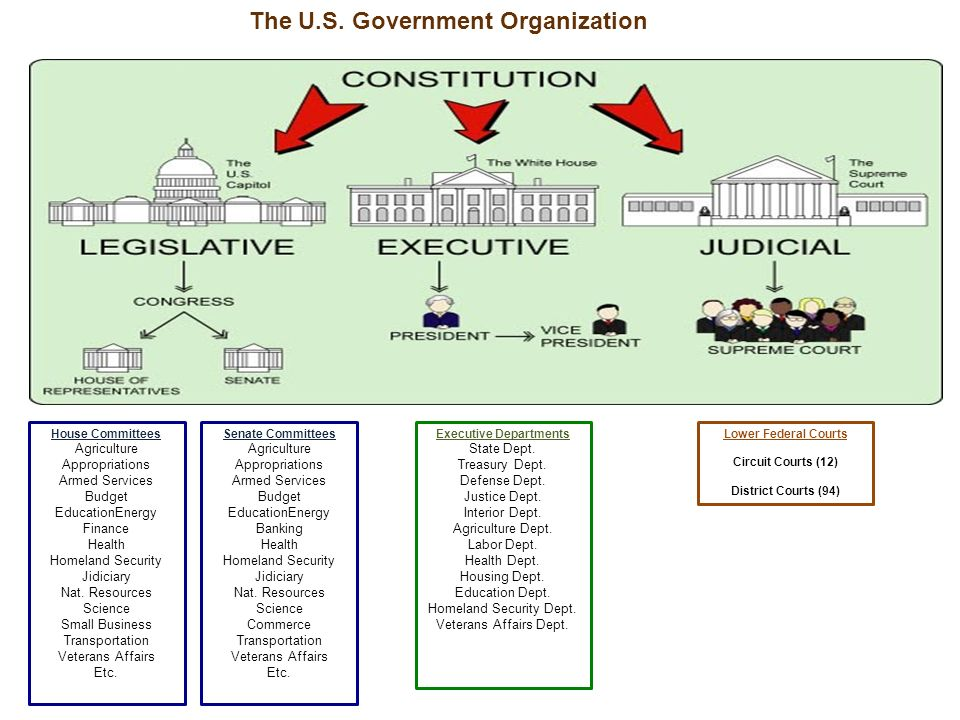 A system of Checks & Balances is built into the structure.