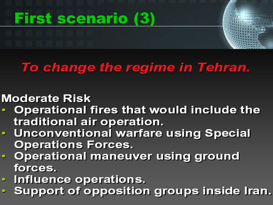 First scenario (3)