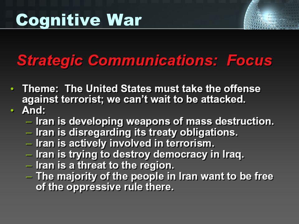 Cognitive War