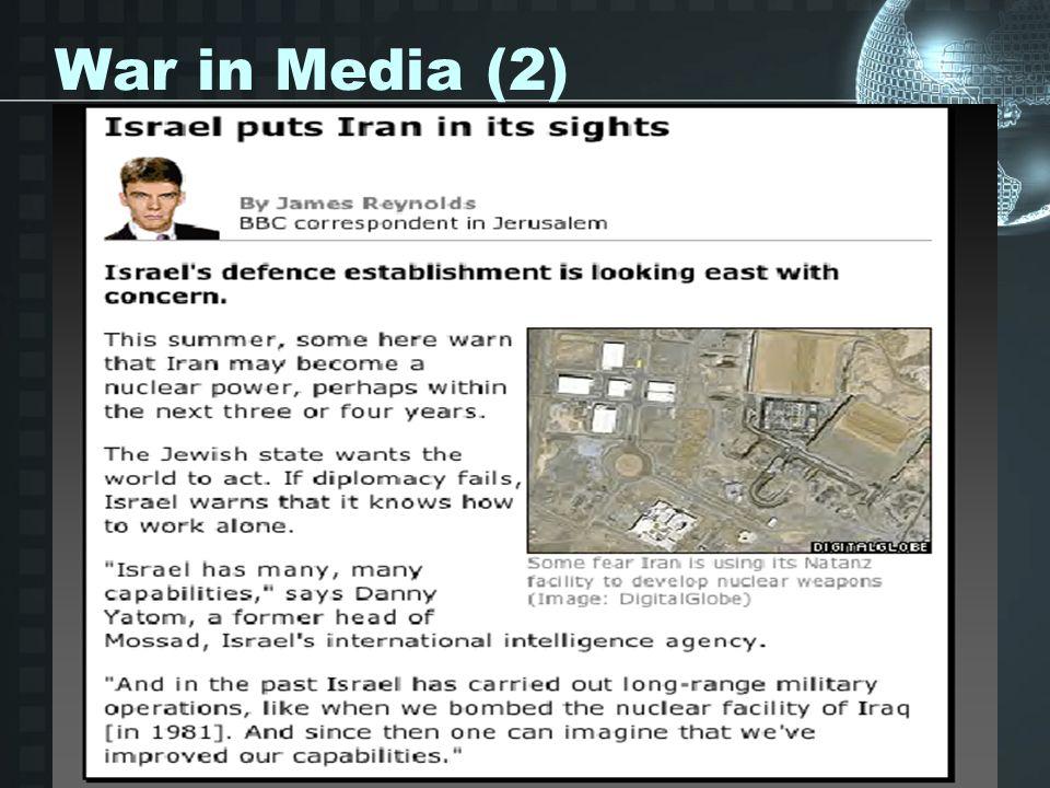 War in Media (2)
