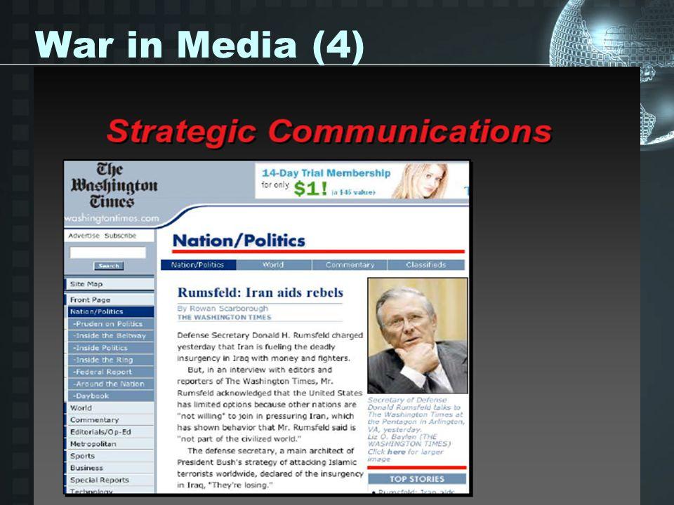 War in Media (4)