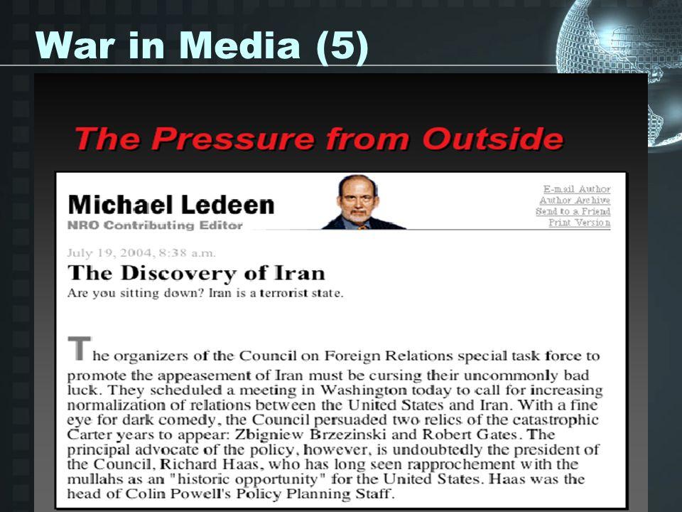 War in Media (5)