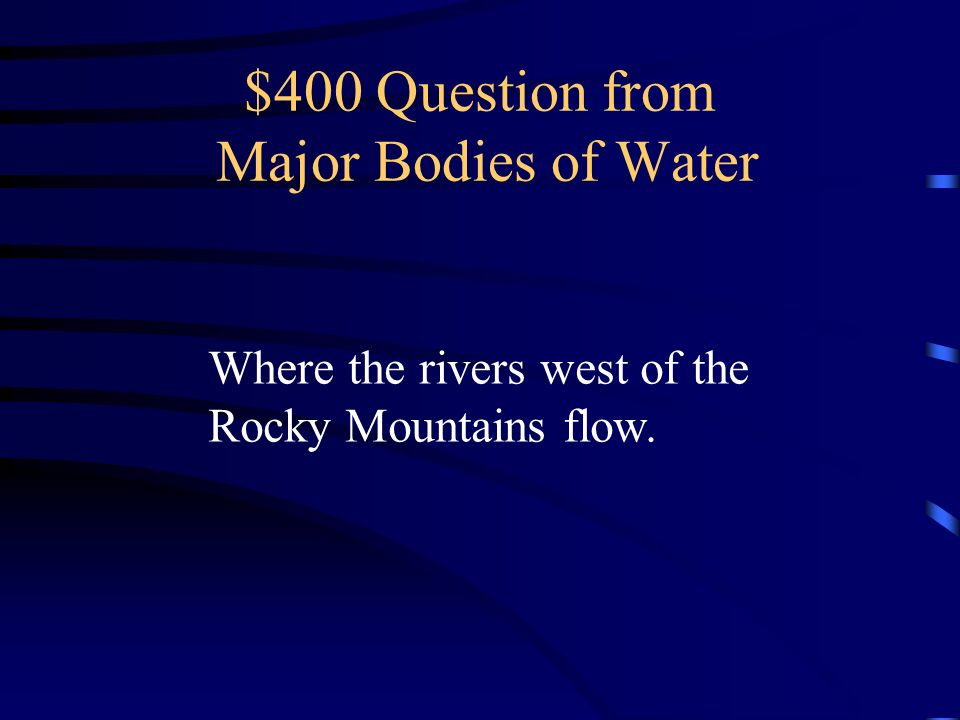 $300 Answer from Major Bodies of Water What is Lake Michigan?