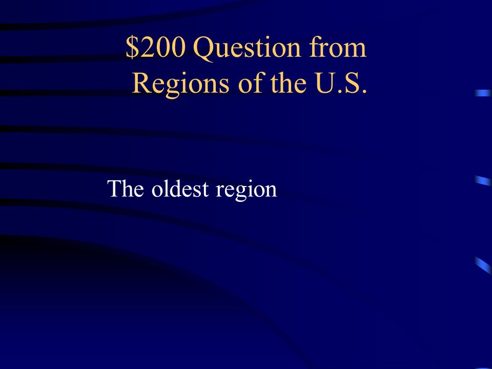 $100 Answer from Regions of the U.S. What is the Southeast region ?