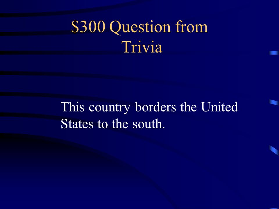 $200 Answer from Trivia What is the Grand Canyon?