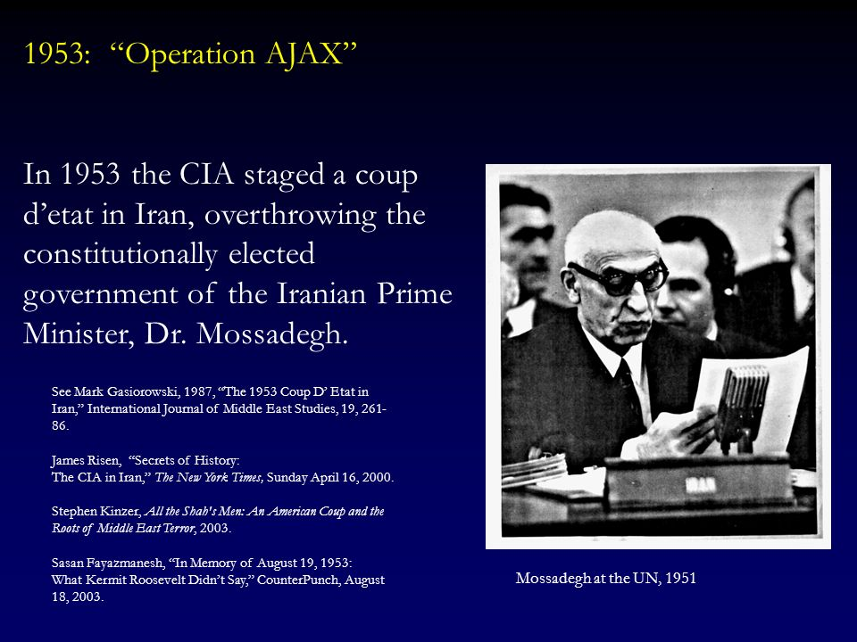 US-Iran Relations: A Brief Historical Background An analysis of US-Iran relations often starts with some original sin: The events of 1979, according t