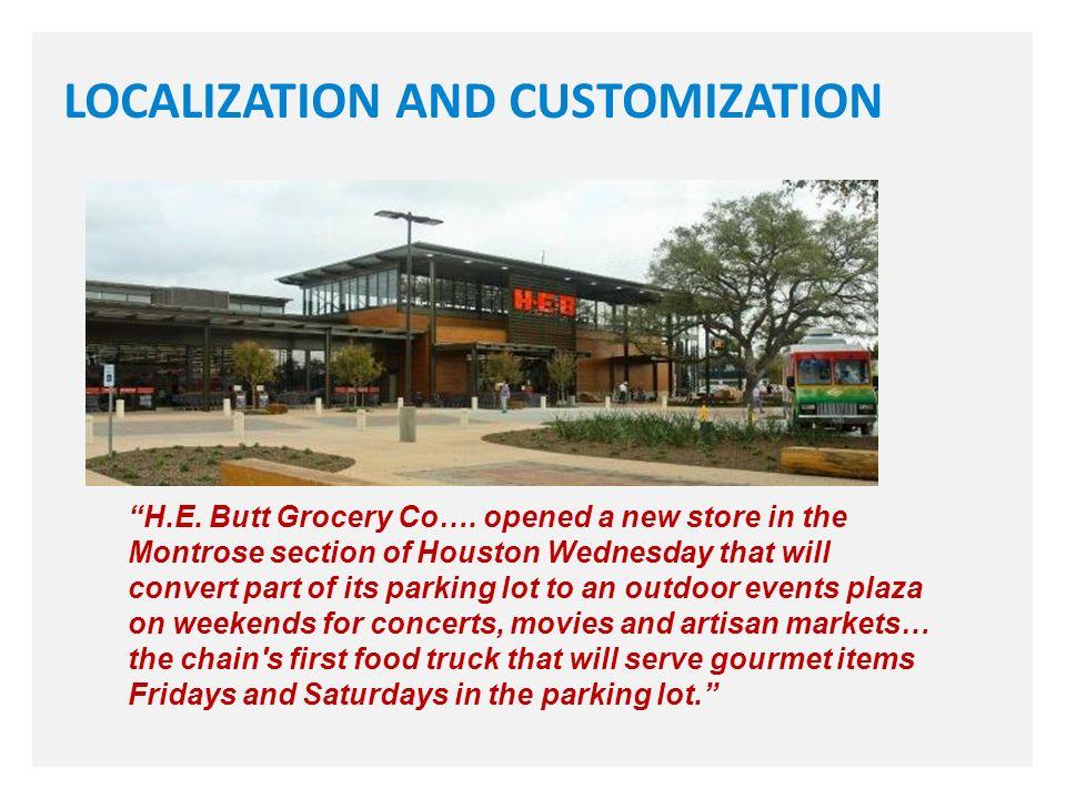 H.E. Butt Grocery Co….