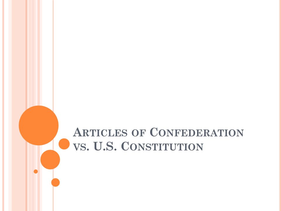 T HE N EW J ERSEY P LAN Modify Articles of Confederation One house Congress Federal government would have power to raise taxes and regulate trade Wanted all state representation to be equal