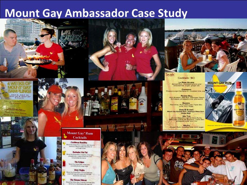 Mount Gay Ambassador Case Study