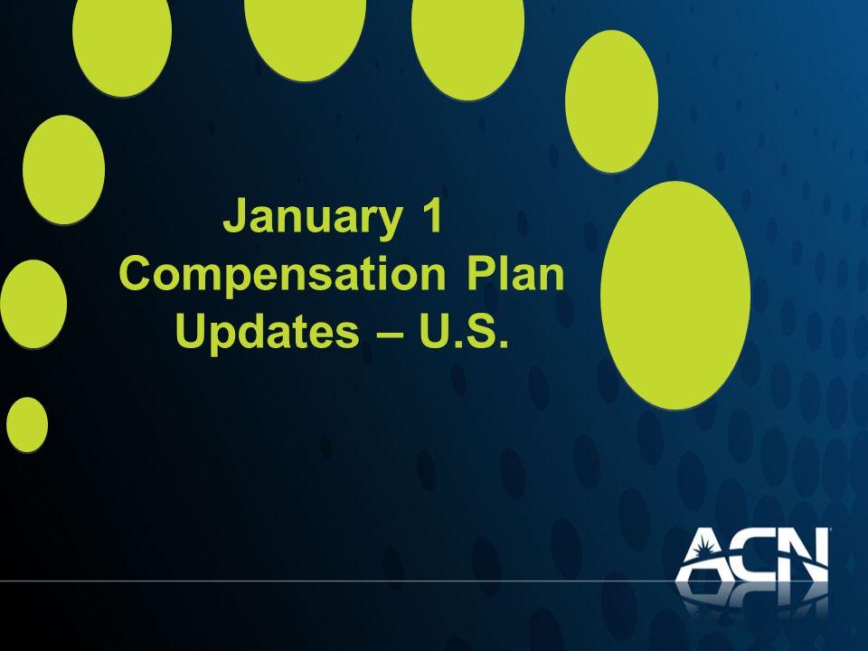 January 1 Compensation Plan Updates – U.S.