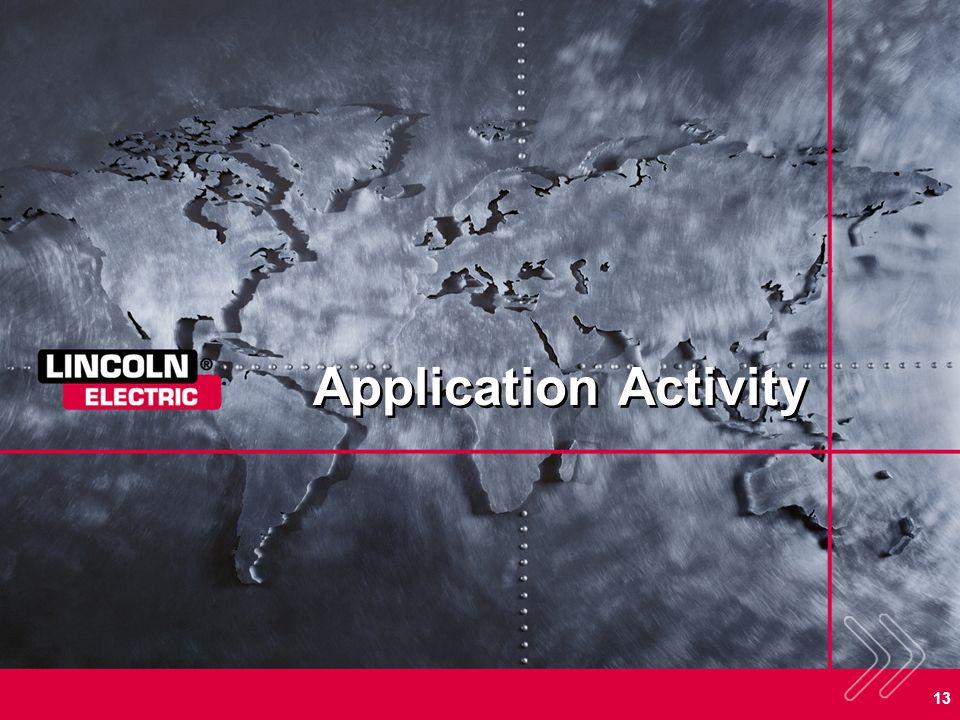 13 Application Activity