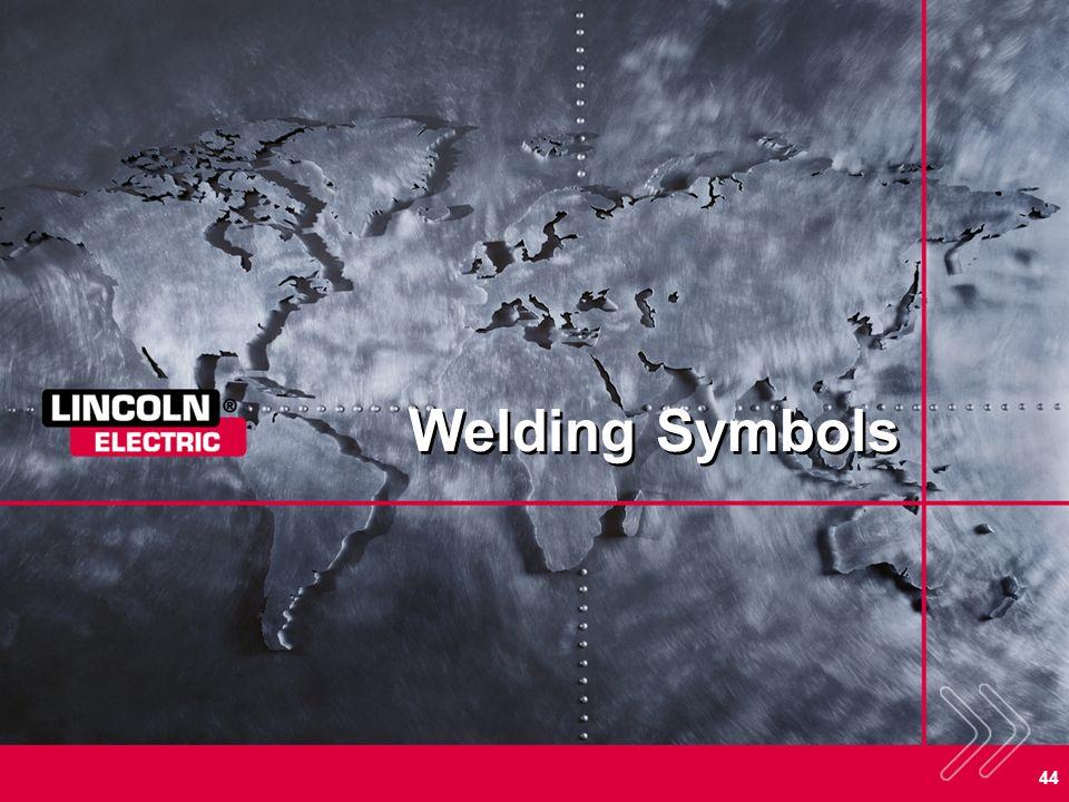 44 Welding Symbols