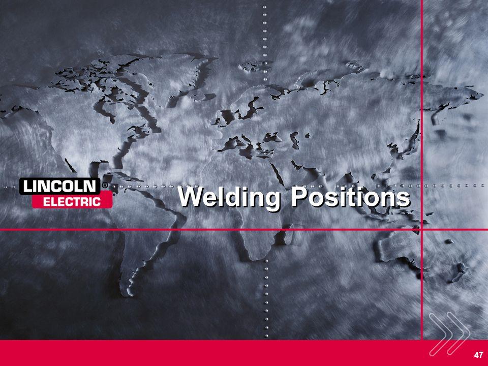 47 Welding Positions
