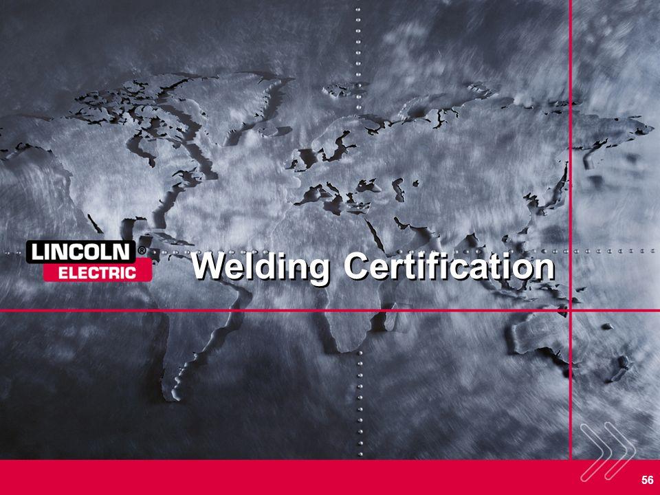 56 Welding Certification