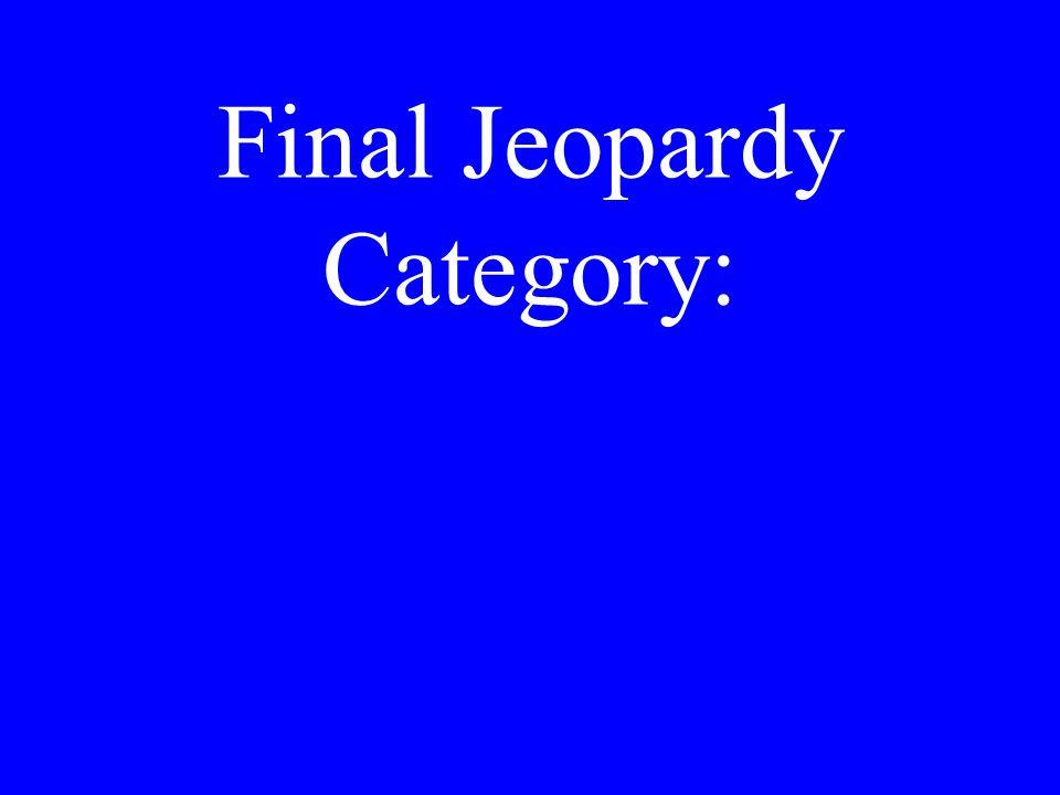 FinalJeopardy