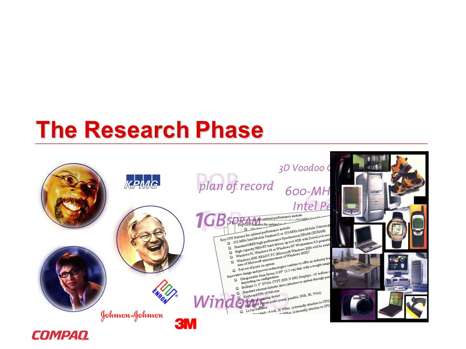 The Research Phase