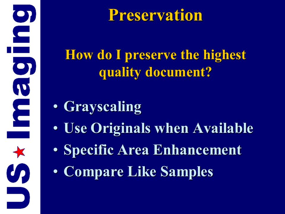 3 Goals for Digital Documents 3 Goals for Digital Documents PreservationPreservation AccessAccess SecuritySecurity