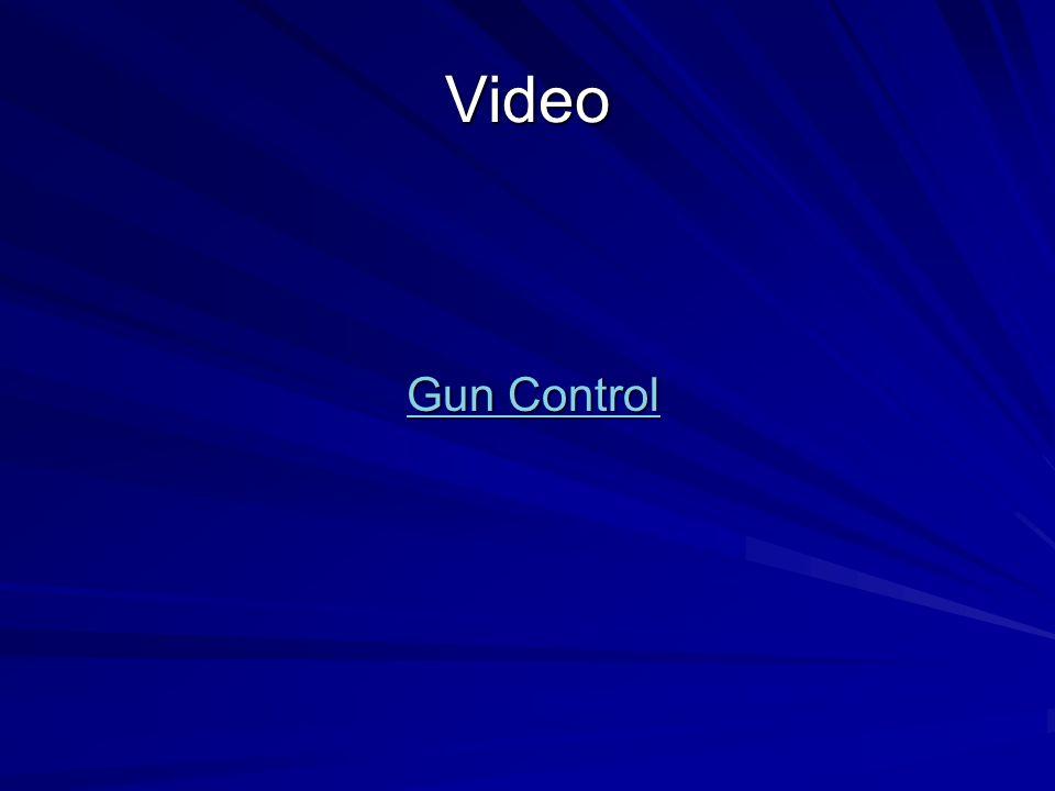 Video Gun Control Gun Control