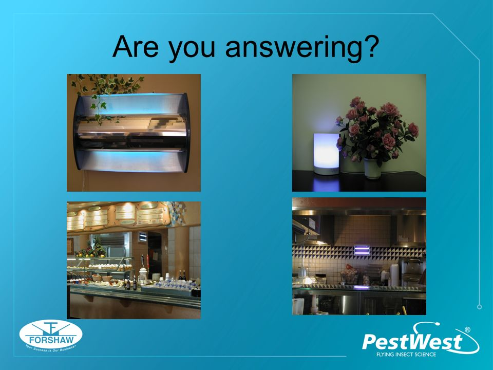 Are you answering?