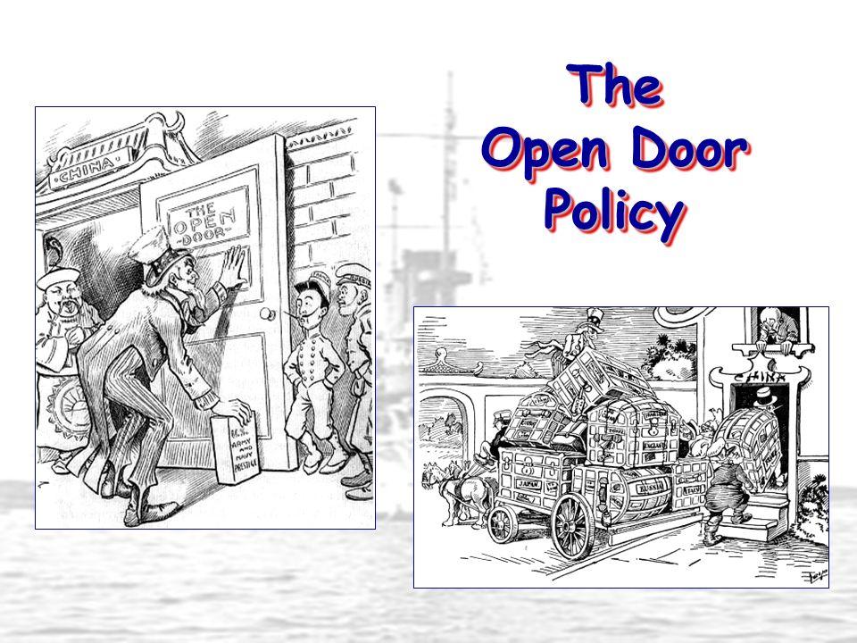 The Open Door Policy