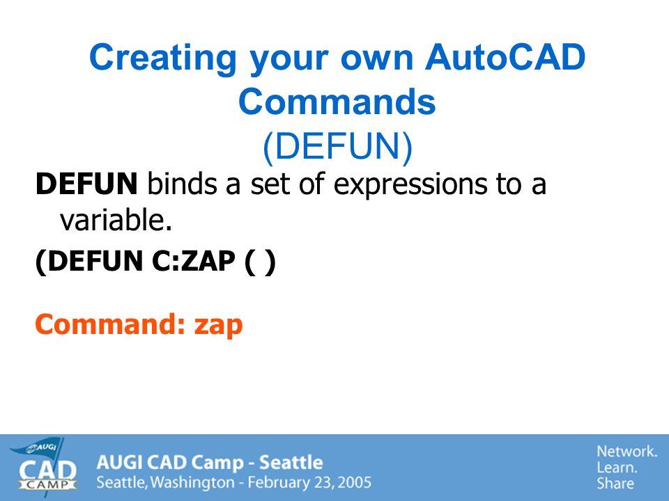 (Command ZOOM A) (Command ERASE L ) (Command INSERT DESK pause 1 1 pause) (Command LINE A B C C) (Command TEXT pause.5 0 Visual Lisp) (Command LAYER S pause ) (Command)