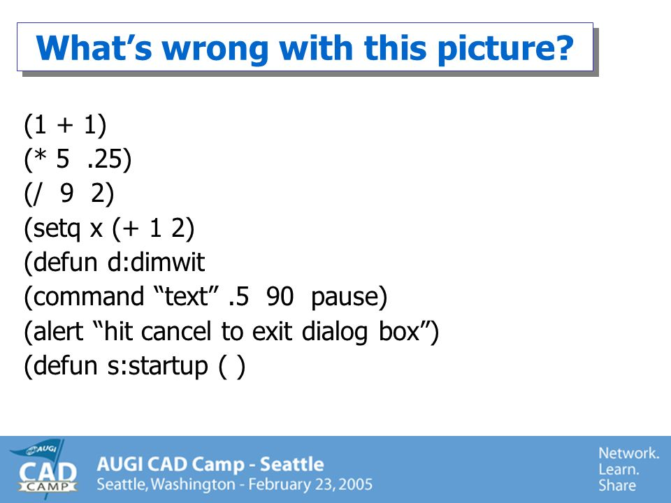 Other evil things to put in s::startup.