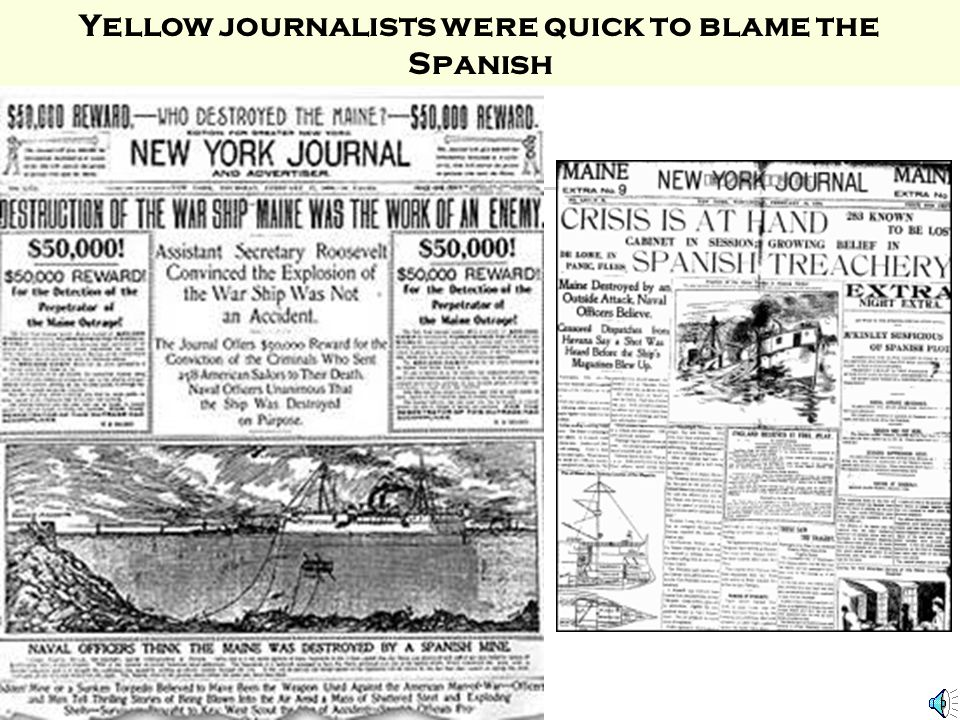 YELLOW JOURNALISM CARTOON WHERE THE TERM YELLOW JOURNALISM CAME FROM IN 1898 NEWSPAPERS PROVIDED THE PUBLIC WITH INFORMATION. PEOPLE LACKED THE ABILIT