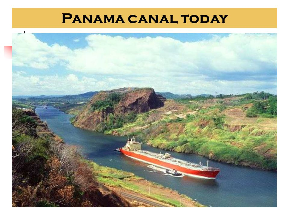 1914 Opening of the Panama Canal