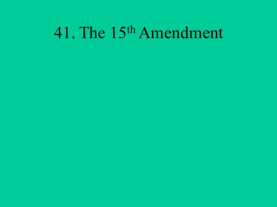 What is the Constitutional amendment that recognized everyone born in the U.S.