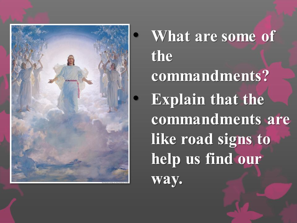 What are some of the commandments.What are some of the commandments.