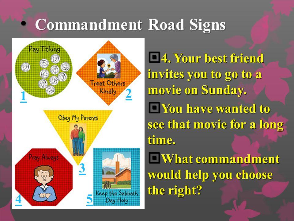 Commandment Road Signs Commandment Road Signs 4.