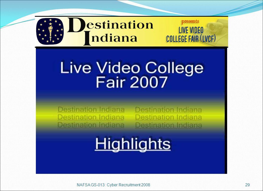 NAFSA GS-013: Cyber Recruitment 200829 (insert video clip here)