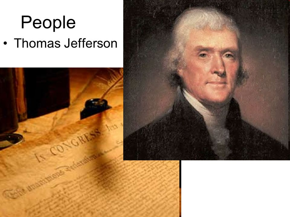 People Thomas Jefferson