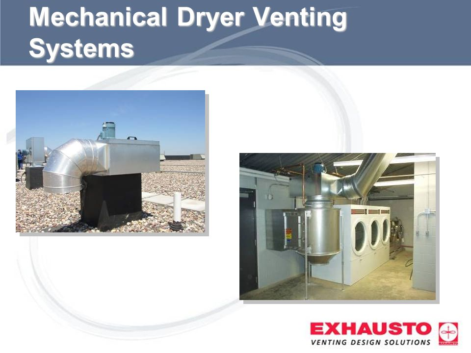 Sub Title Mechanical Dryer Venting Systems
