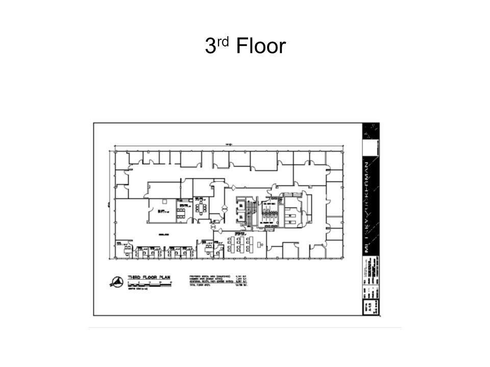 3 rd Floor