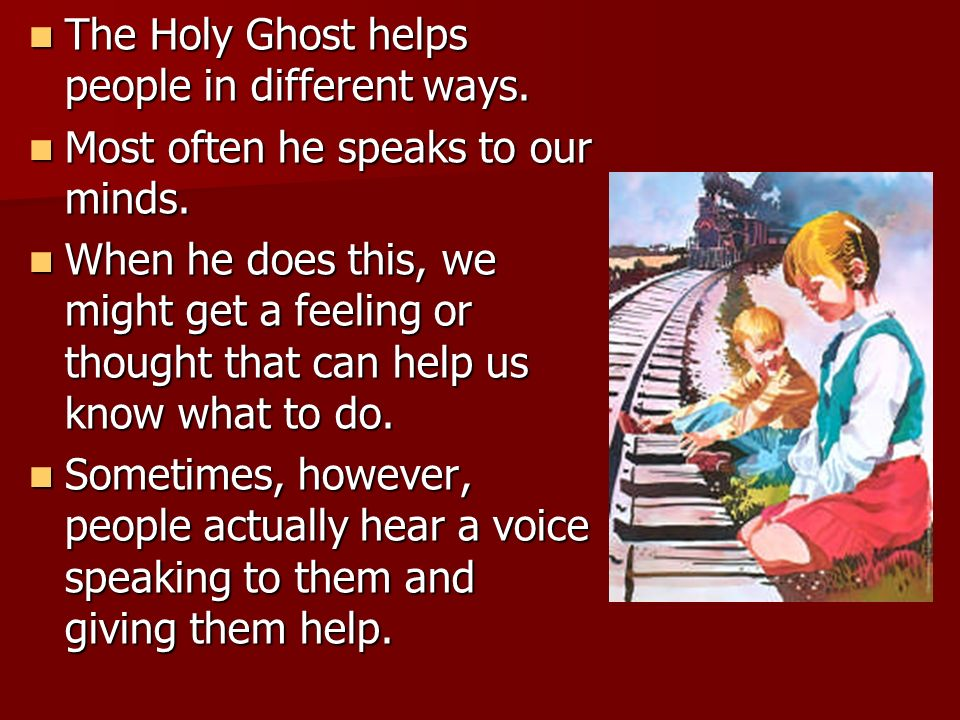Who helped Karolina? How did the Holy Ghost help Karolina save her brother?
