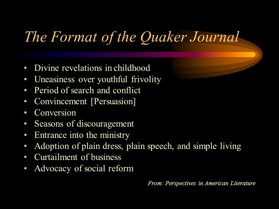 John Woolmans Journal Few journals contain all these stages.