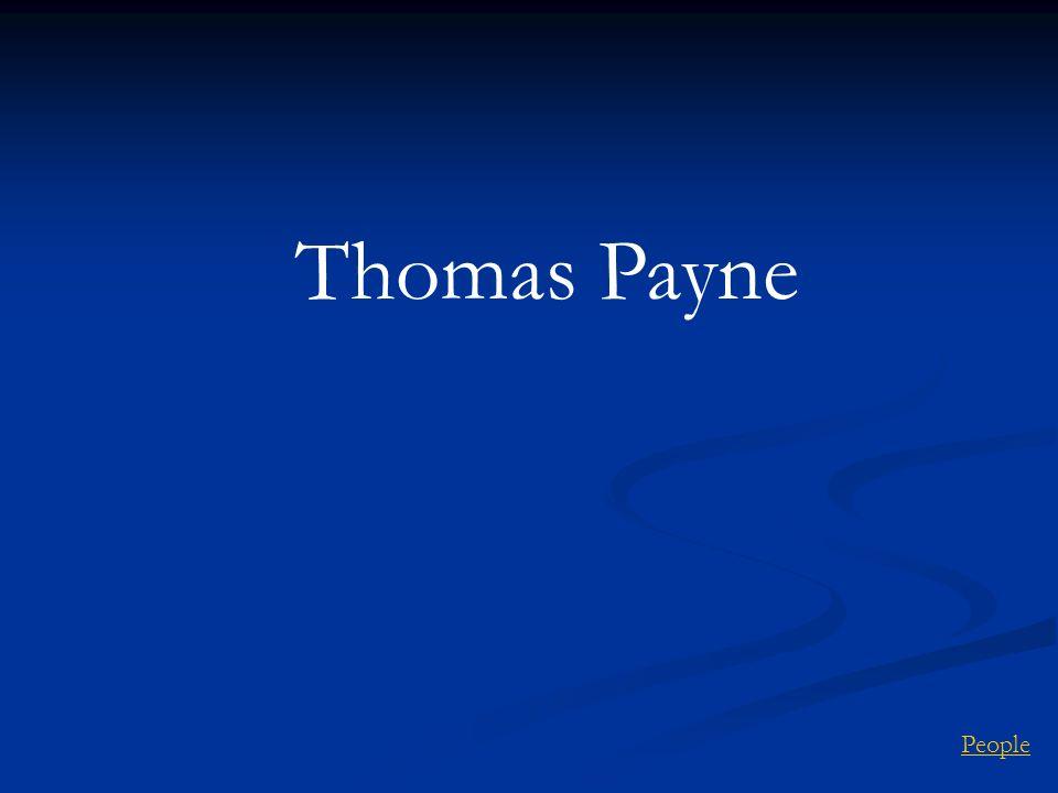 People Thomas Payne