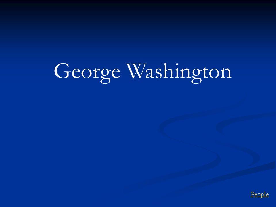 People George Washington