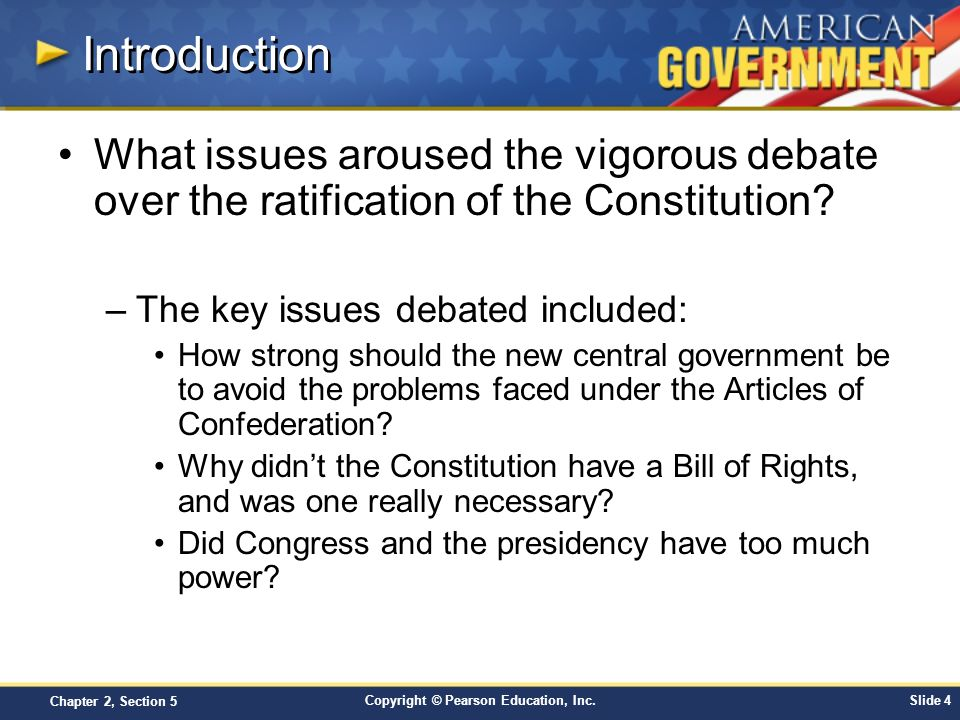 Copyright © Pearson Education, Inc.Slide 15 Chapter 2, Section 5 Inauguration, cont.