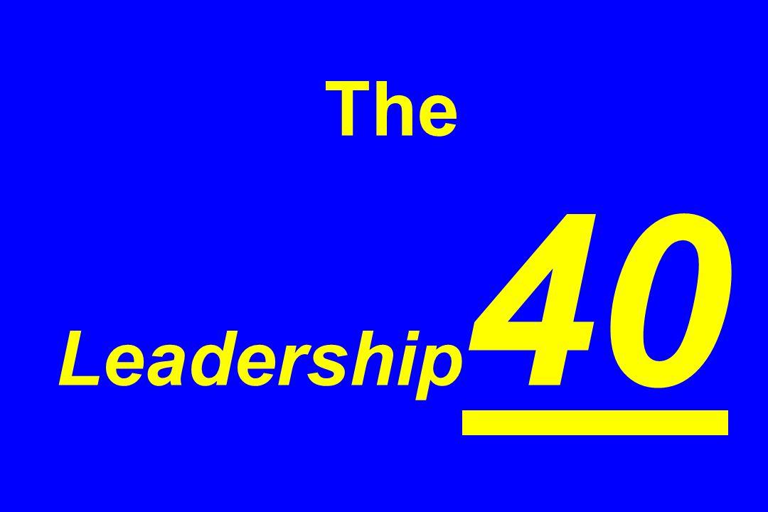 The Leadership 40