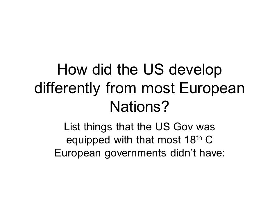 Quiz: 1.In the 18 th C, in Europe- what authority controlled society.
