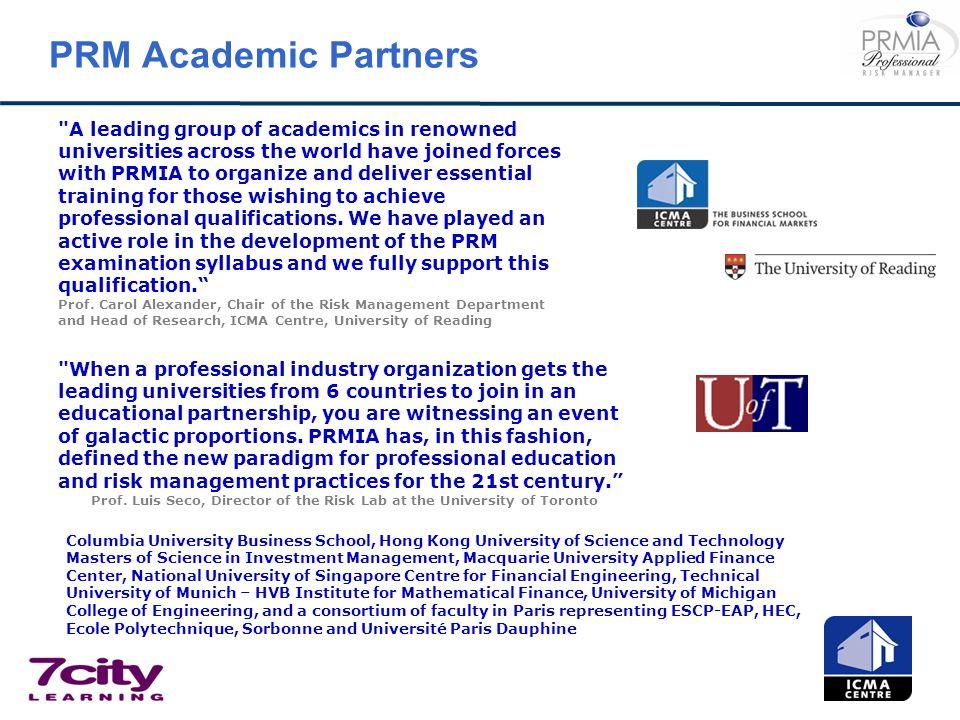 PRM Academic Partners