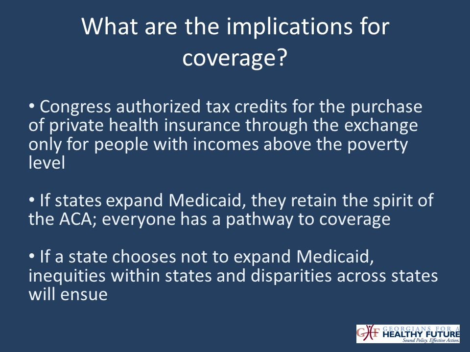 What are the implications for coverage.